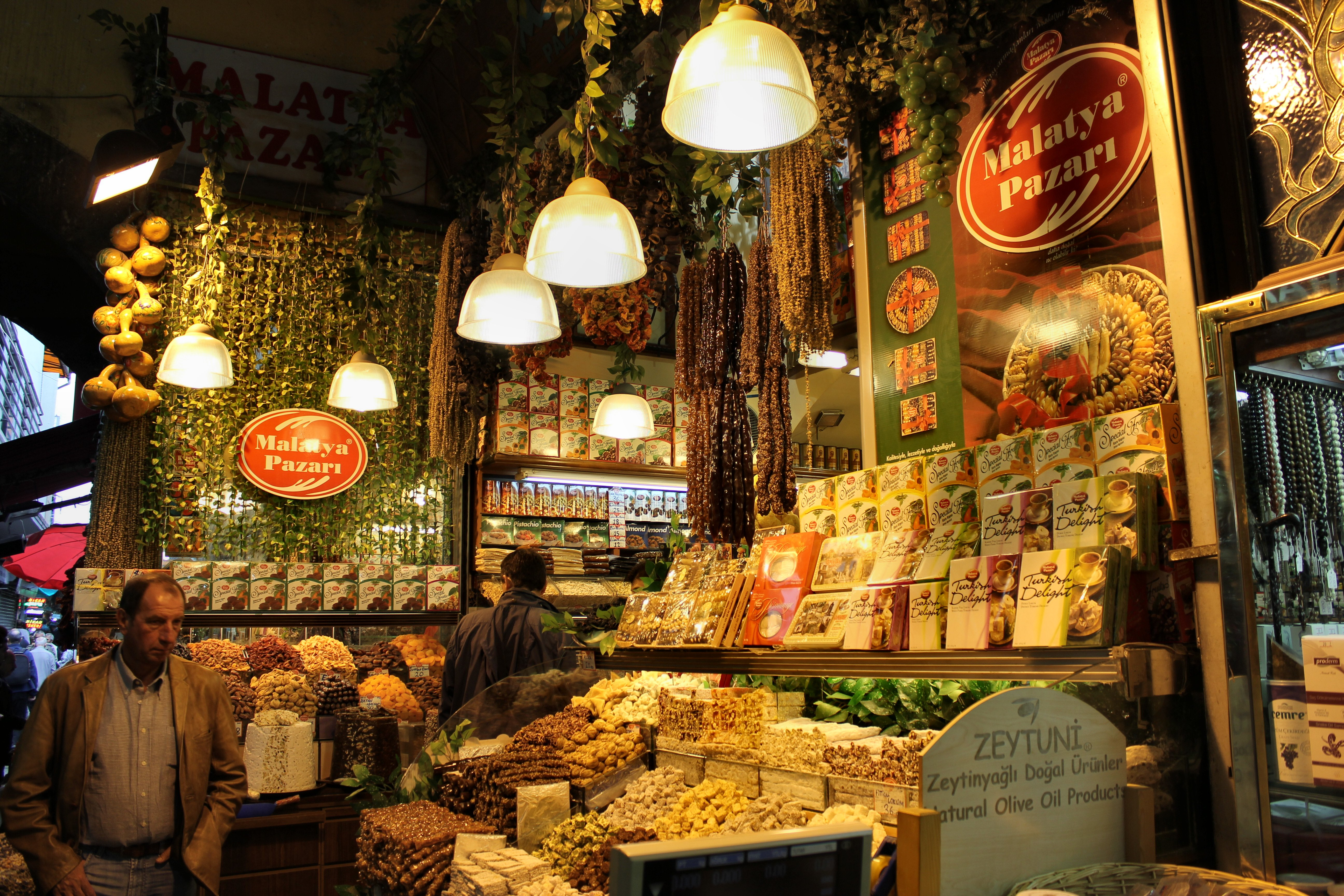 10 best markets in Istanbul