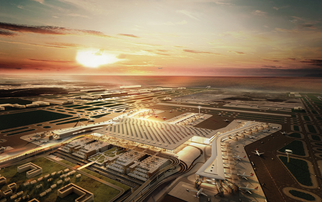 Istanbul New Airport: almost halfway there