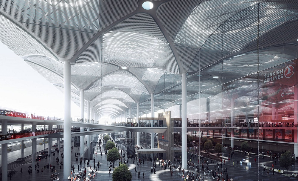 New Istanbul Airport currently serving 66 different airlines