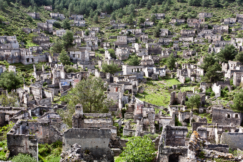 Kayakoy Ghost Village: Turkey's Abandoned Homes