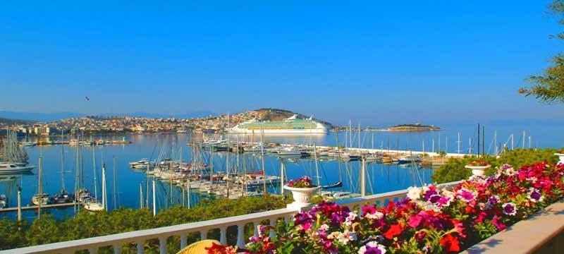 Kusadasi Welcomes 40 Cruise Ships from January to May