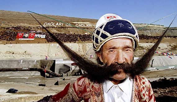 Turkey's long, lustrous love affair with the moustache