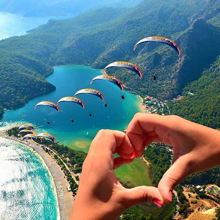 Oludeniz Beach and the Famous Blue Lagoon of Turkey