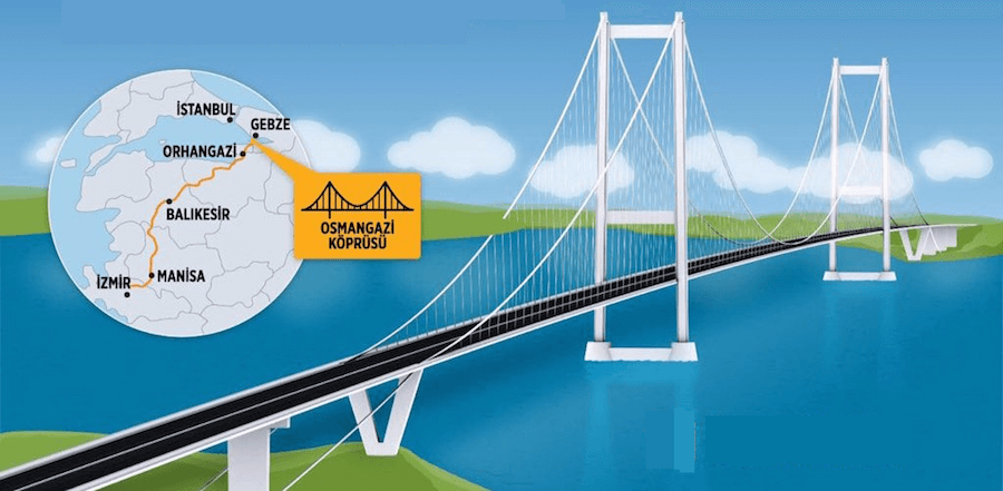 New Izmit Gulf Bridge to double property prices in Bursa and Mudanya