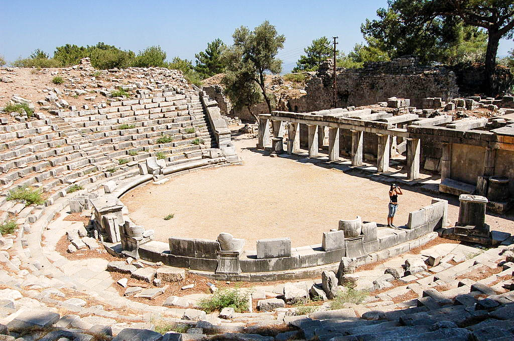 The Historical Importance of Priene Ancient City Ruins