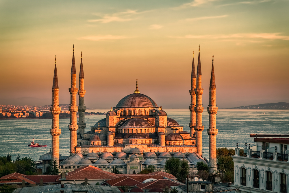 Sacred Architecture: The Blue Mosque and Hagia Sophia of Istanbul