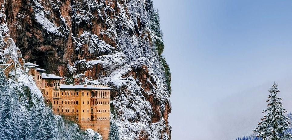 The Greek Orthodox Sumela Monastery in Trabzon