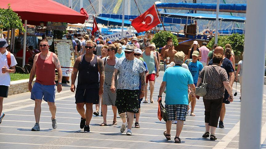 Turkey 'not far' from 75 million tourist goal