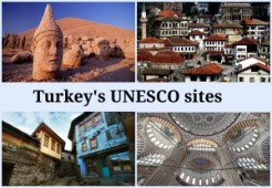 The 15 UNESCO World Heritage sites of Turkey