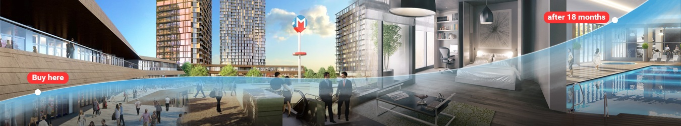 Pre-launch investor price on Metro Residence Central Istanbul