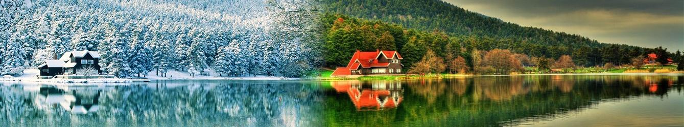 Custom Built Countryside Villa in Bolu Forest