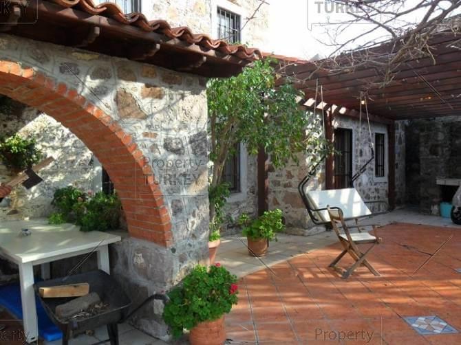 Authentic stone house in Gurece village Ortakent