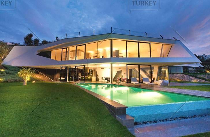 Ultra Contemporary Villas in Hebil Koy with Beach access