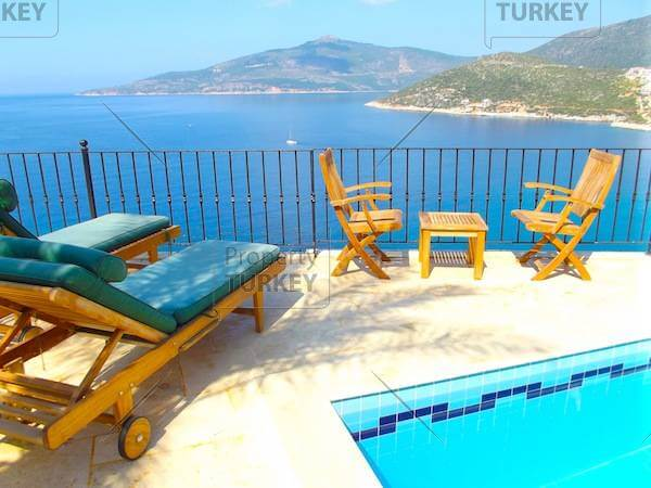 Stunning view from 5 bedroom Komurluk house