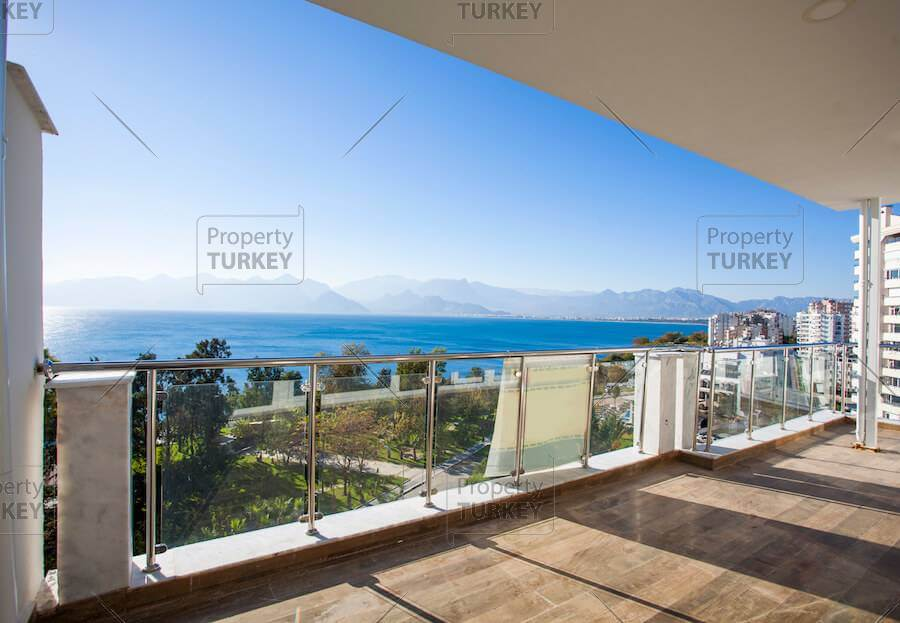 Outstanding beachfront apartment in prime Lara Antalya