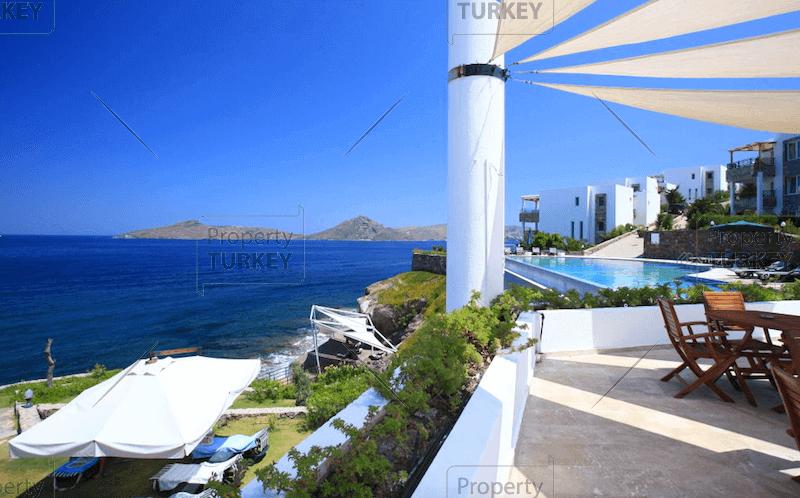 Absolute beachfront home in Bodrum Yalikavak