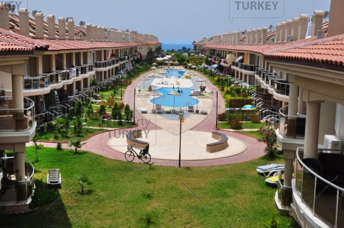 Calis apartment within 5-star beach complex