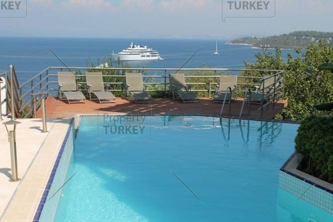Turkbuku home steps from the beach for sale