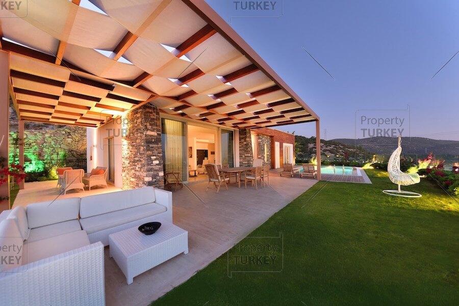 Eternal blue Bodrum luxury wide view properties