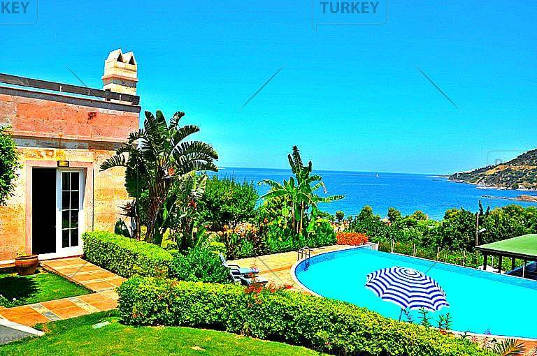 Bodrum stone villa with unmatched seafront location
