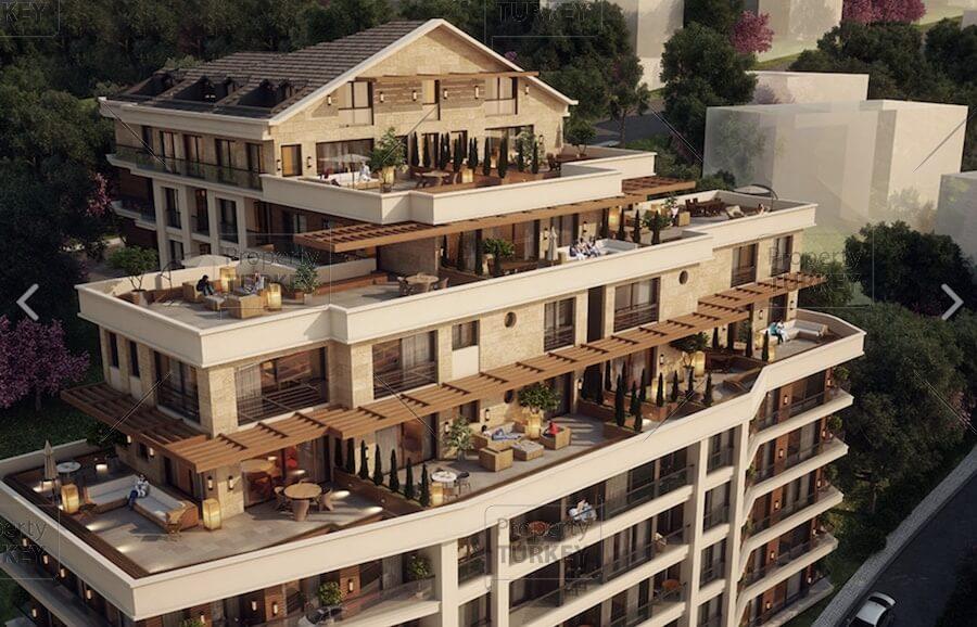 Central Istanbul Bomonti Urban Regeneration apartments