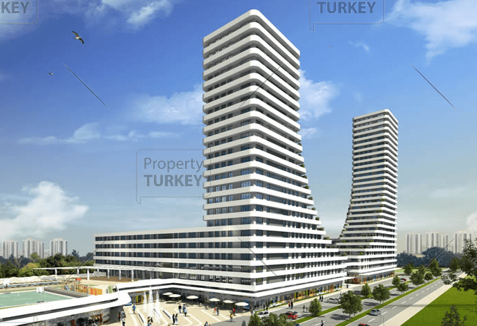 Luxury Bursa towers in prime central location for sale
