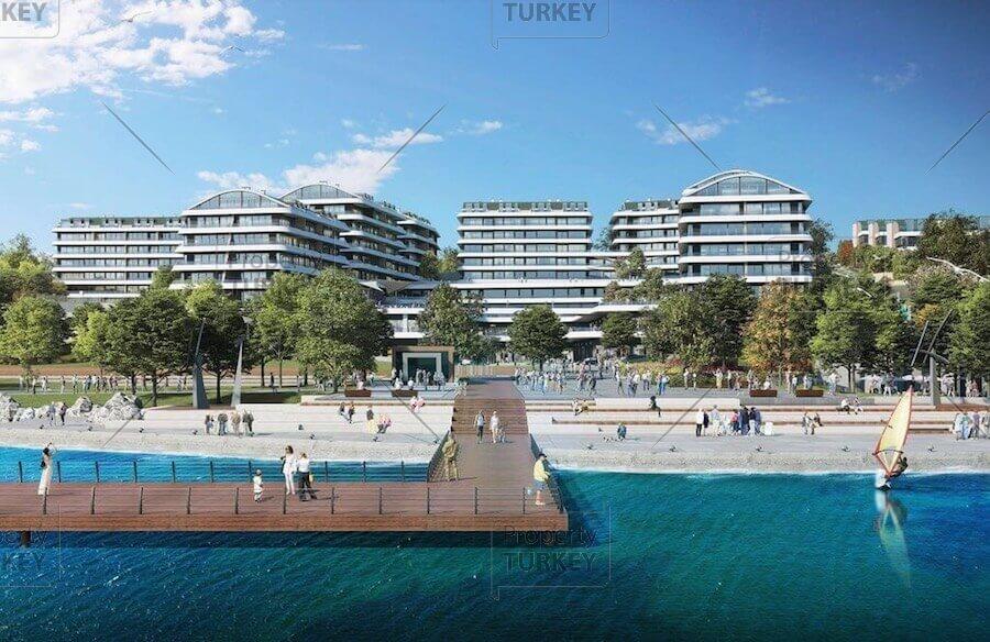 Istanbul Marmara seafront Blue Marina luxury residences