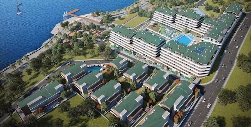 Waterfront villas for sale in Istanbul west European side