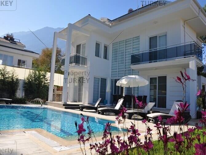 Luxury contemporary Ovacik villa pine forest views
