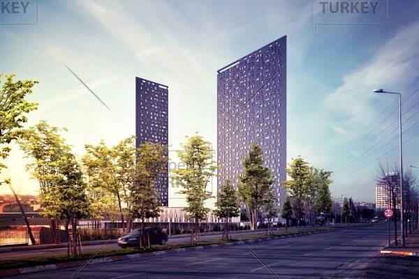 Philippe Starck designer homes in Media Highway Istanbul
