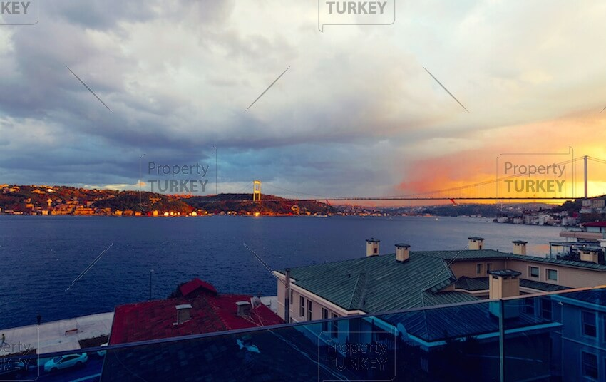 Royal Blue sea view Istanbul luxury Mansion