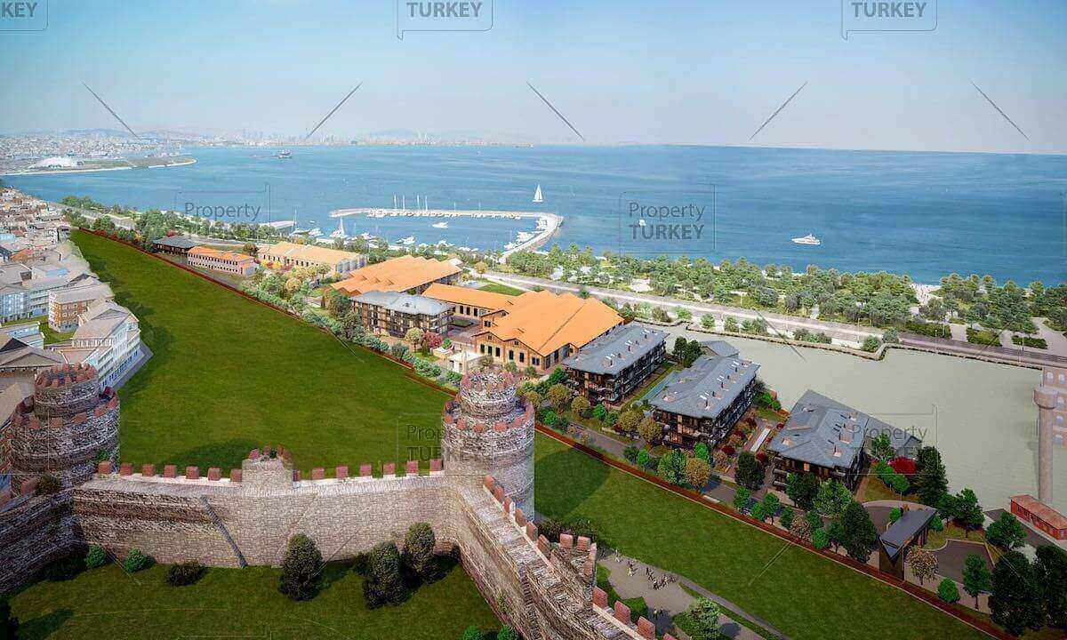 Ottoman Sultans Fatih seaside homes