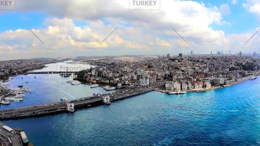 Bargain Istanbul centre Bosporus view residence
