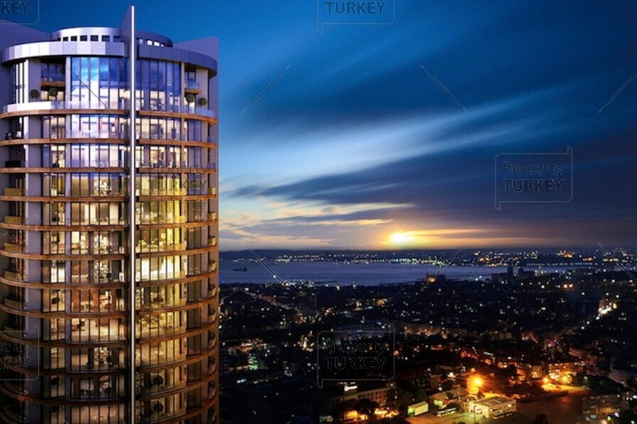 Five-star Bosporus view Kadikoy regeneration apartments