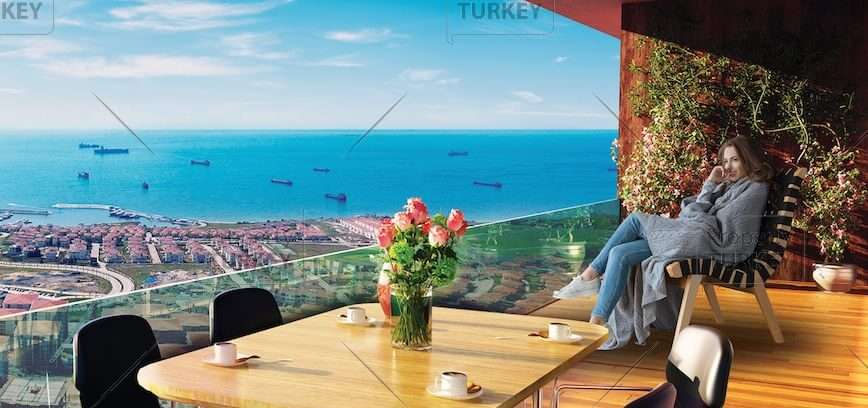 Blue Sea of Marmara family residences in Istanbul
