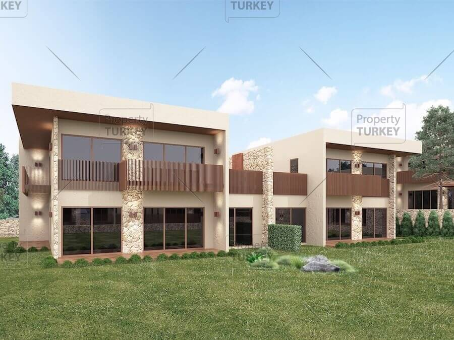 Deluxe villas in central location Bursa with private gardens