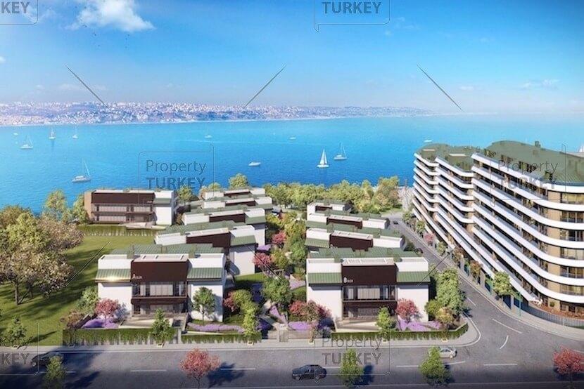 Waterfront villas for sale in Istanbul west European side