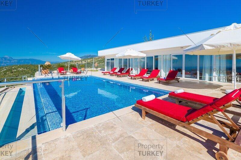 Sea and Bay view immaculate villa in Islamlar Kalkan