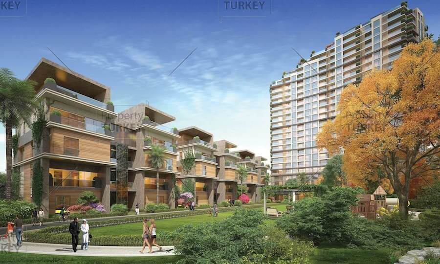 Luxury Atakoy apartments overlooking Central Park and sea