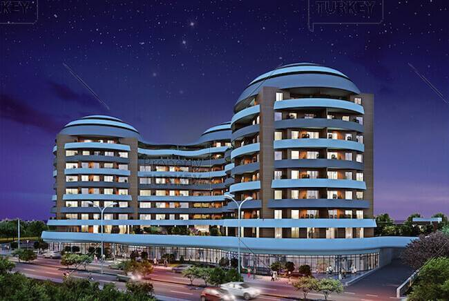 Spacious and luxury apartments in central Istanbul