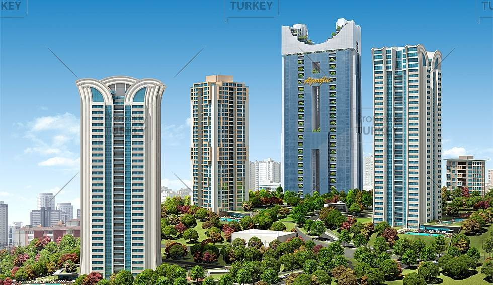 Istanbul Premium Property Investment in Atasehir