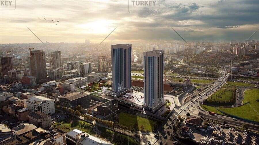 200 metres to Metro Underground Basin Ekspres apartments