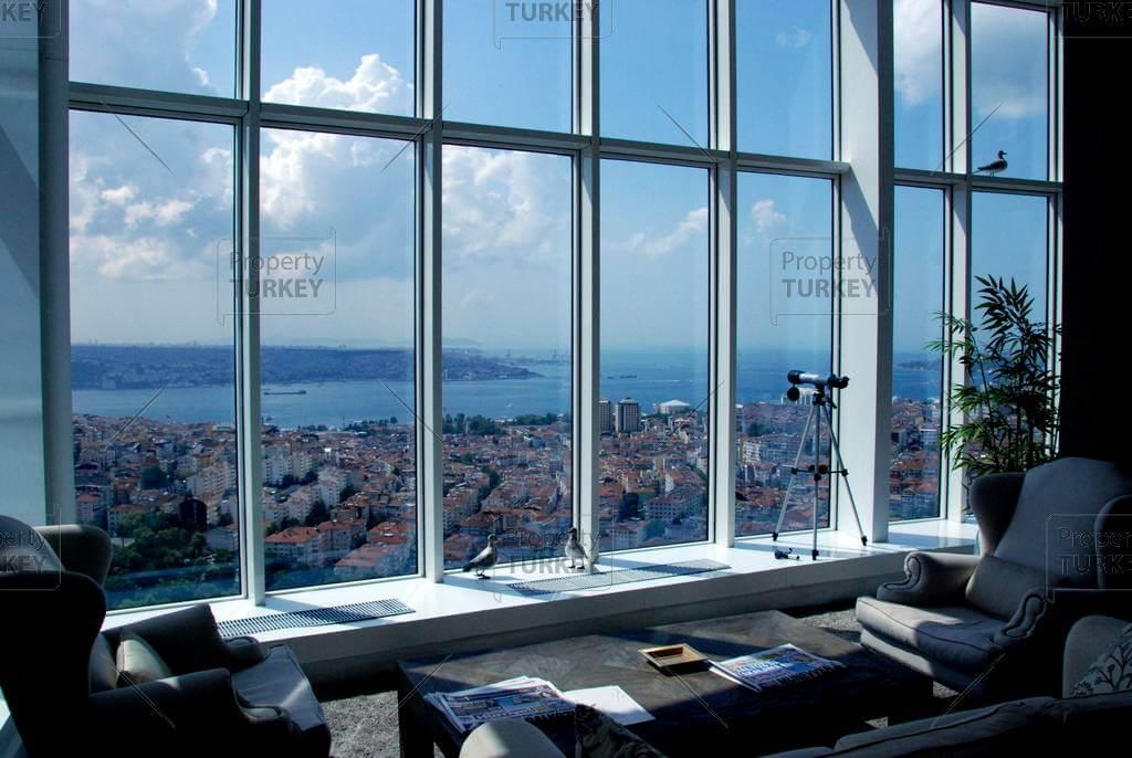 Prestigious apartments for sale in Central Istanbul