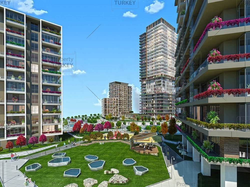 Basaksehir New Istanbul family apartments close to Metro
