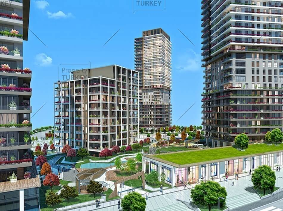 Basaksehir New Istanbul family apartments close to Metro