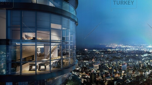 Outstanding Bosporus Sea and city view luxury homes