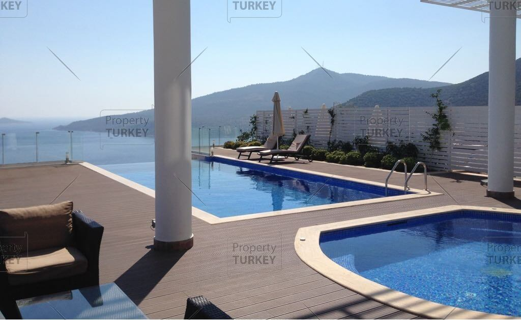Sea view detached luxury Kalkan family home