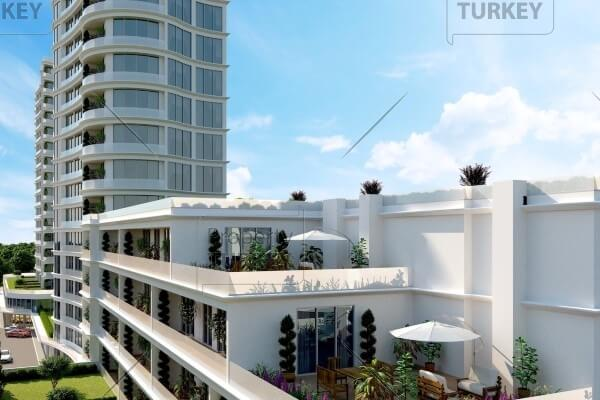 Luxury apartments for sale close to Atakoy Marina