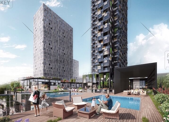 Branded Hotel Residence in Media Highway Istanbul assured income