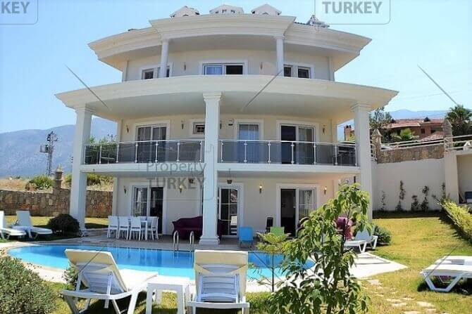 Modern Ovacik villa at the foothills of Babadag Mountain